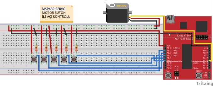 MSP430servomotorkontrol